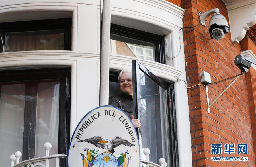"""(国际)(1)""""维基揭秘""""创始人阿桑奇在伦敦被捕"""
