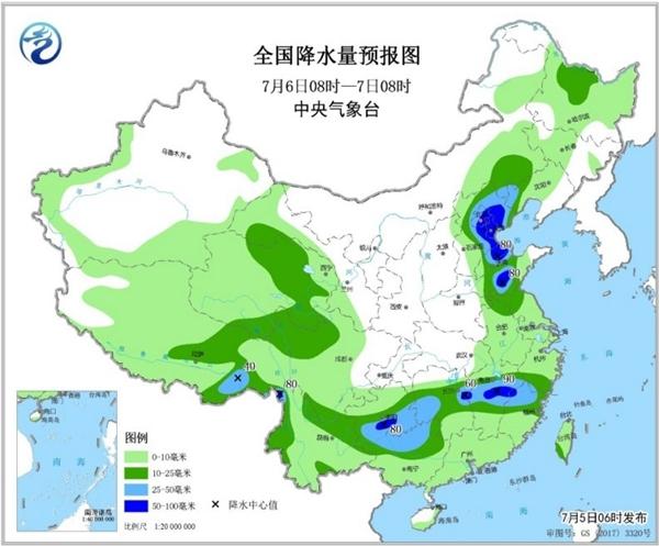 东北华北雷雨伴强对流 南方将迎更强降雨